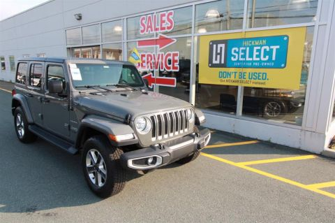 Pre-Owned 2019 Jeep Wrangler Sahara Four Wheel Drive SUV