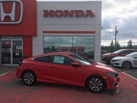New 2020 Honda Civic LX Front Wheel Drive 2-Door Coupe